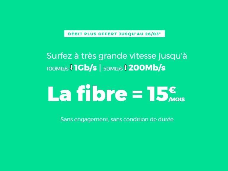 Box internet : la Fibre RED by SFR est à 15 euros / mois jusqu'à ce soir