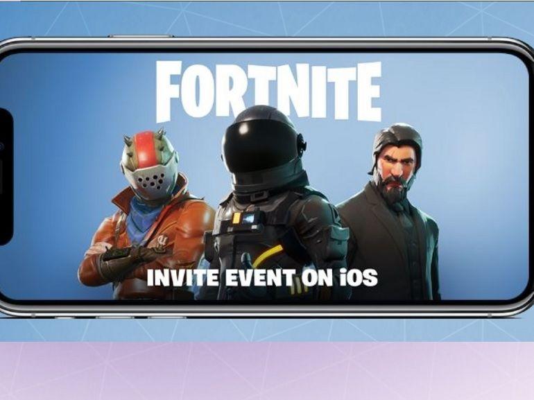 Fortnite, principal concurrent de PUBG arrive sur iPhone en cross-play