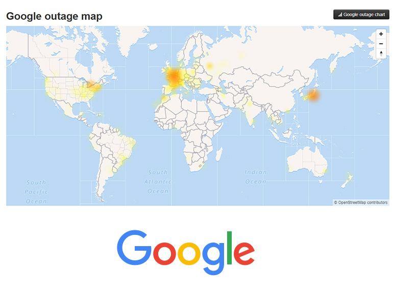 Panne Google : retour à la normale progressif pour les services