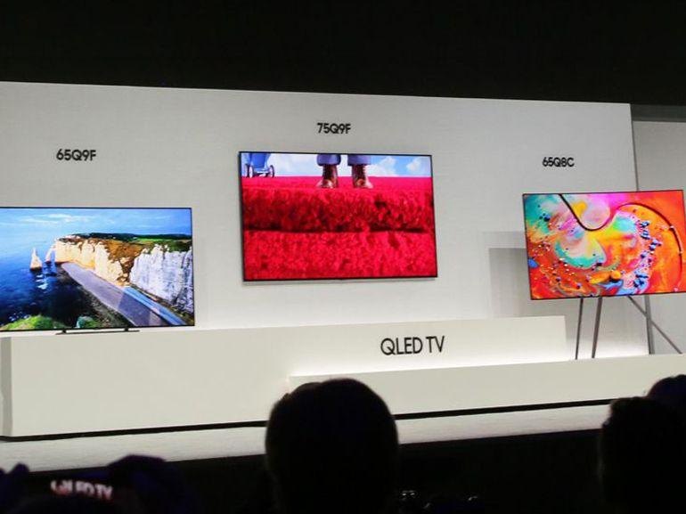 Samsung présente ses TV Qled 2018, avec du Full LED prometteur sur le Q9