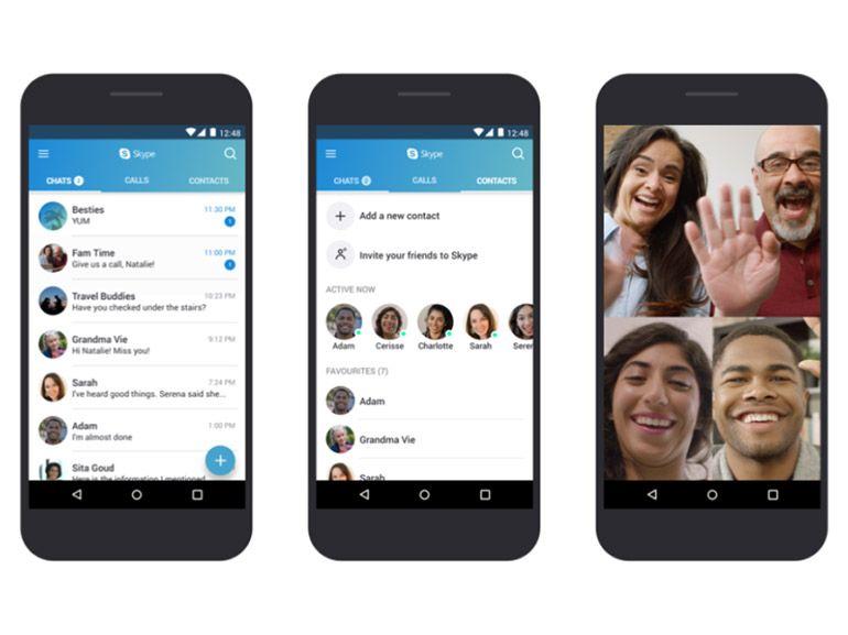 Skype : une nouvelle appli pour les appareils Android les plus anciens