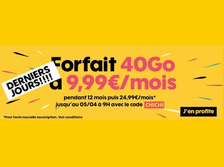 Orange : l'offre Sosh 40 Go à 10 euros prendra fin demain