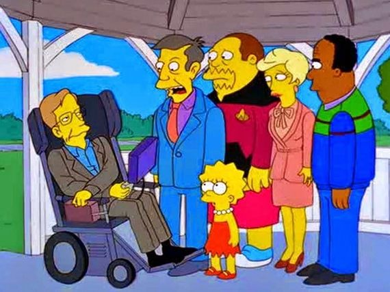 Des Simpson à Star Trek en passant par Pink Floyd, Stephen Hawking était LE physicien de la pop culture
