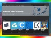 Edge : une nouvelle page dédiée aux extensions dans le Microsoft Store
