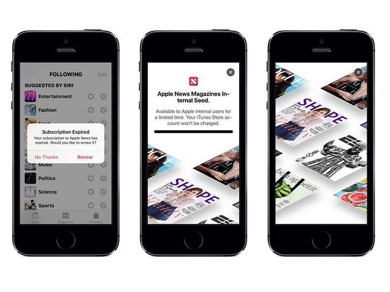 Apple News Magazines, un nouveau service dissimulé dans iOS 12.2 ?