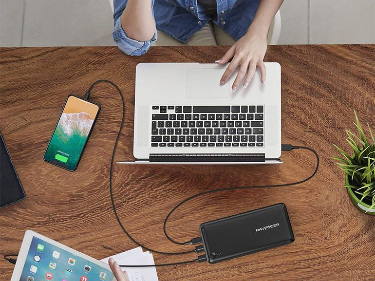 Bon plan : une batterie externe 26800mAh avec ports USB et USB-C à 44,99€