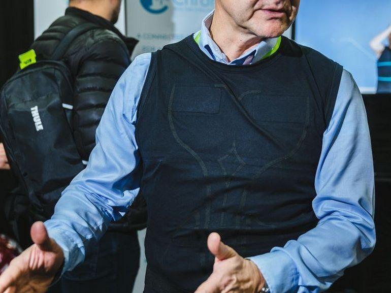"""CES 2019 : ce t-shirt """"made in France"""" veut prédire la crise cardiaque avant qu'il ne soit trop tard"""