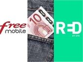RED by SFR ou Free Mobile : on refait le match du meilleur forfait mobile à 10€