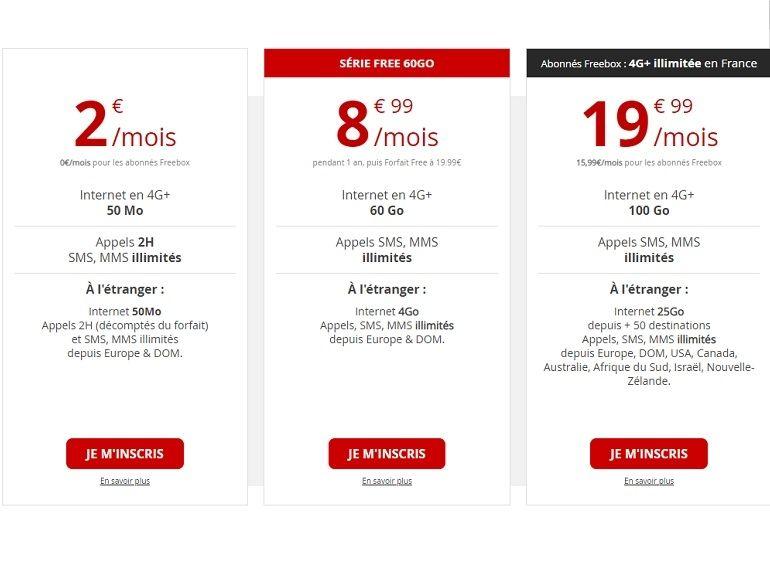 Bon plan : Free Mobile prolonge son forfait 60 Go à 8,99€
