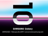 Galaxy S10 : ce sera le 20 février, c'est officiel