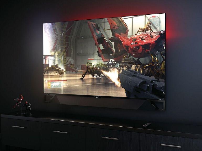 CES 2019 : HP Omen X Emperium, un moniteur gaming 4K de 65 pouces