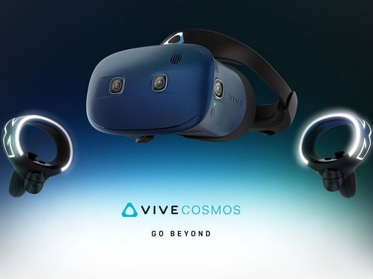 CES 2019 : HTC dévoile le Vive Cosmos, un casque de VR prometteur