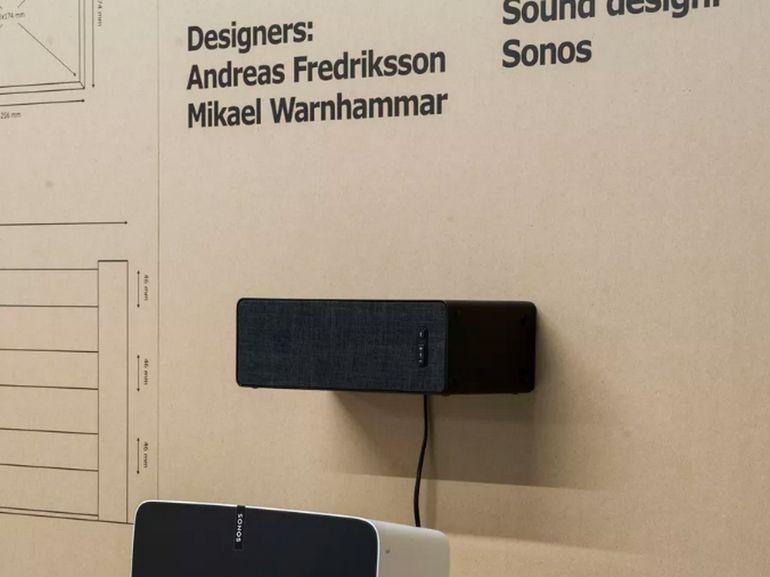 Symfonisk, l'enceinte connectée d'Ikea et Sonos lancée en août