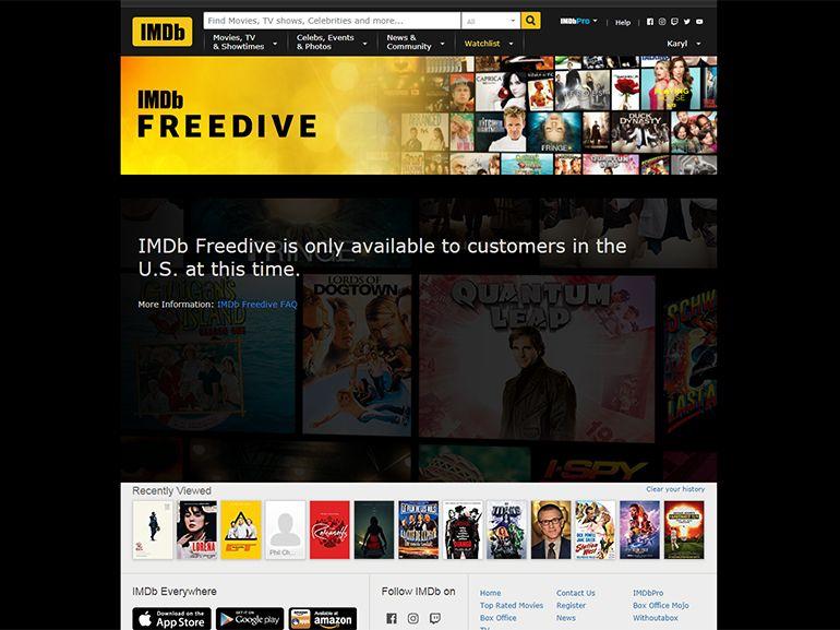 IMDb lance un service de streaming vidéo entièrement gratuit