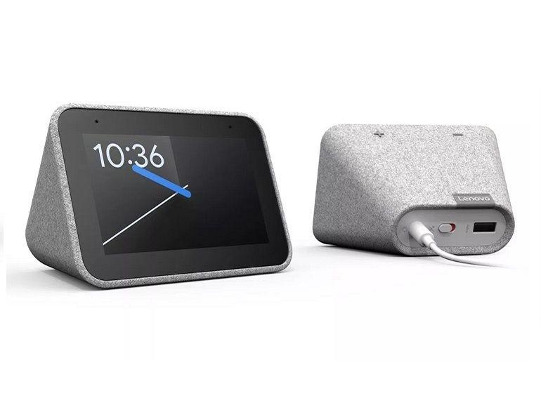 CES 2019 : Lenovo Smart Clock, un Google Home mini dans un radio-réveil