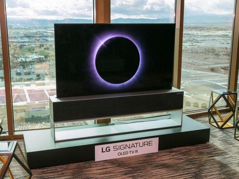 CES 2020 : on connait le prix du TV enroulable d'LG, et personne ne l'achètera
