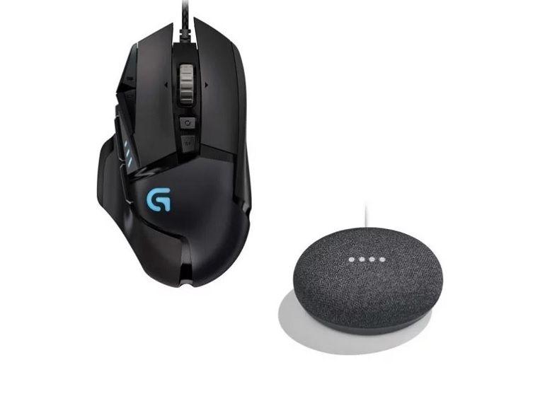 Soldes : Souris Logitech G502 + Google Home Mini à 49,90€