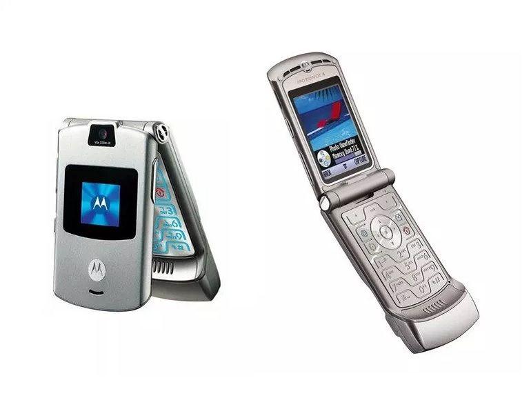 Un premier aperçu du Motorola Razr avec un écran pliable ?