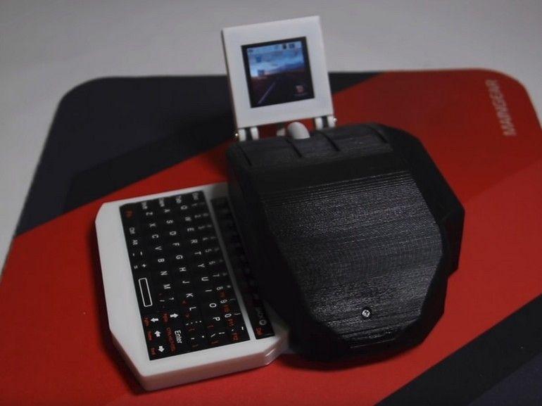 Insolite : un micro PC Raspberry Pi dans une souris