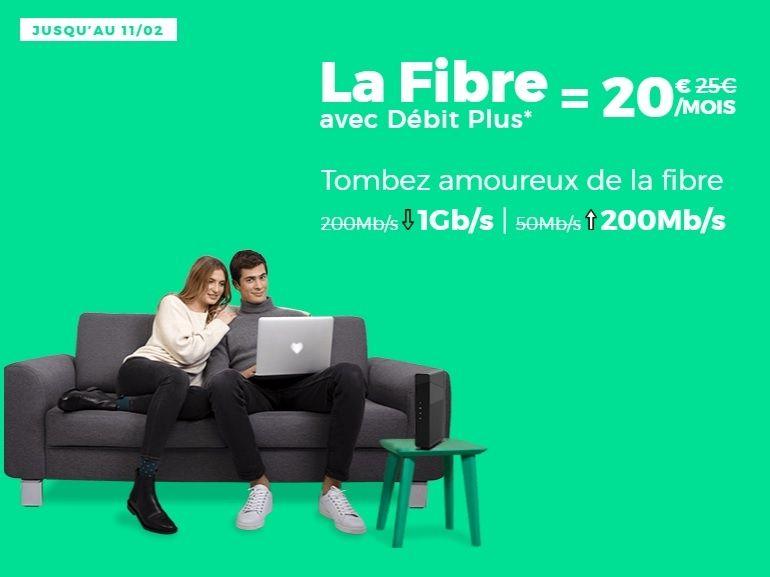 La box Internet fibre RED by SFR 1 Gb/s à 20 euros est de retour (et c'est un bon plan)