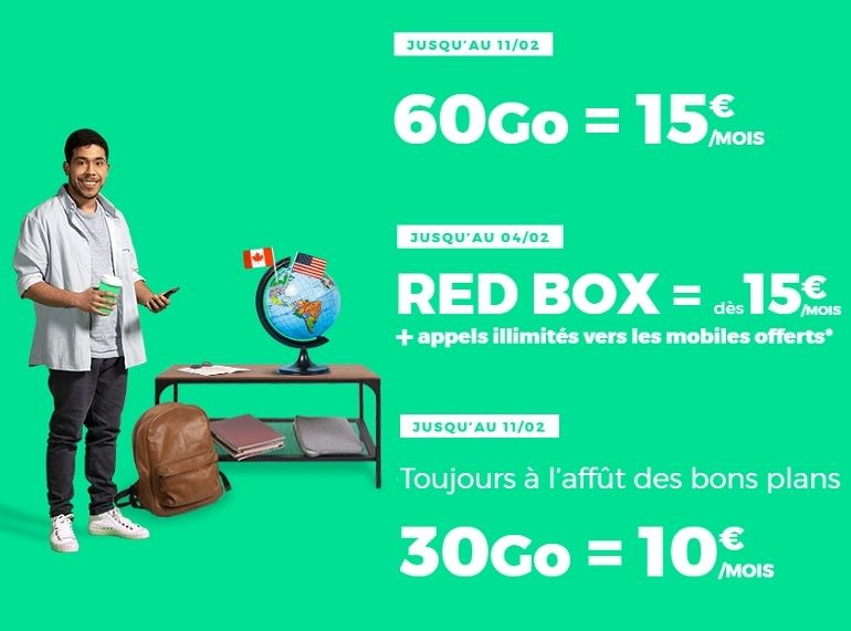 RED by SFR : forfaits mobiles et box Internet, sélection des bons plans et ce que l'on en pense