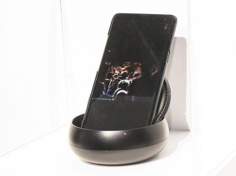 Le smartphone 5G de Samsung était bien au CES, mais on n'avait pas le droit d'y toucher