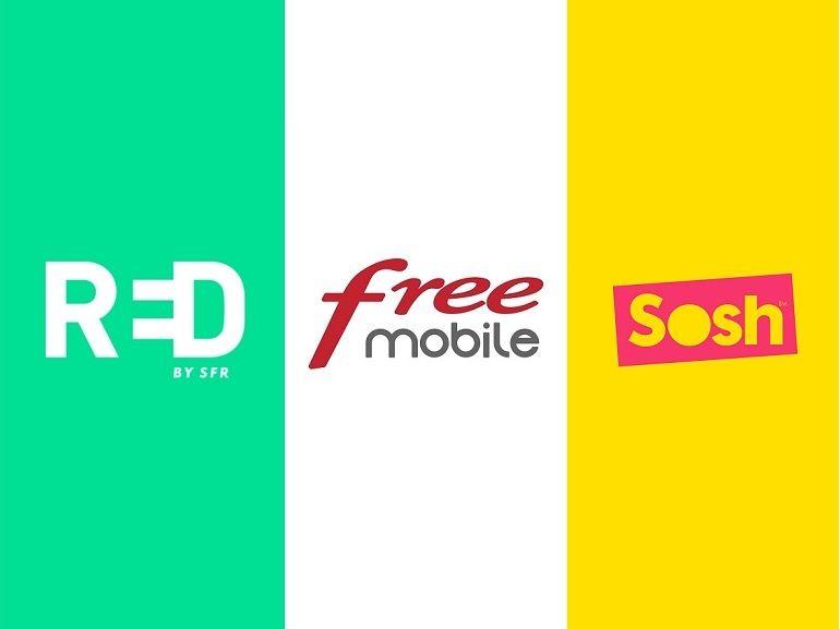 Sosh, RED by SFR ou Free Mobile : quel forfait mobile à 10€ choisir actuellement ?