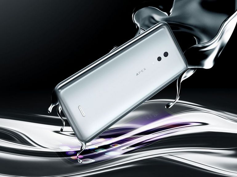 Vivo Apex 2019 : pas de boutons ni de ports pour ce smartphone 5G haut de gamme