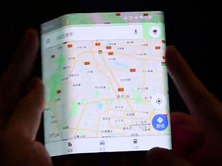 Un smartphone à écran pliable signé Xiaomi ?