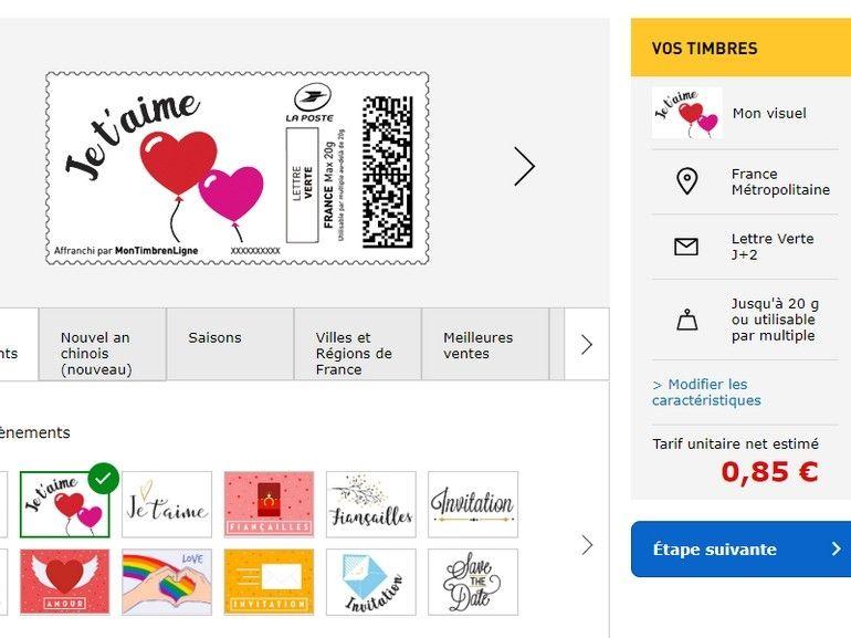 Comment acheter et imprimer ses timbres chez soi avec La Poste