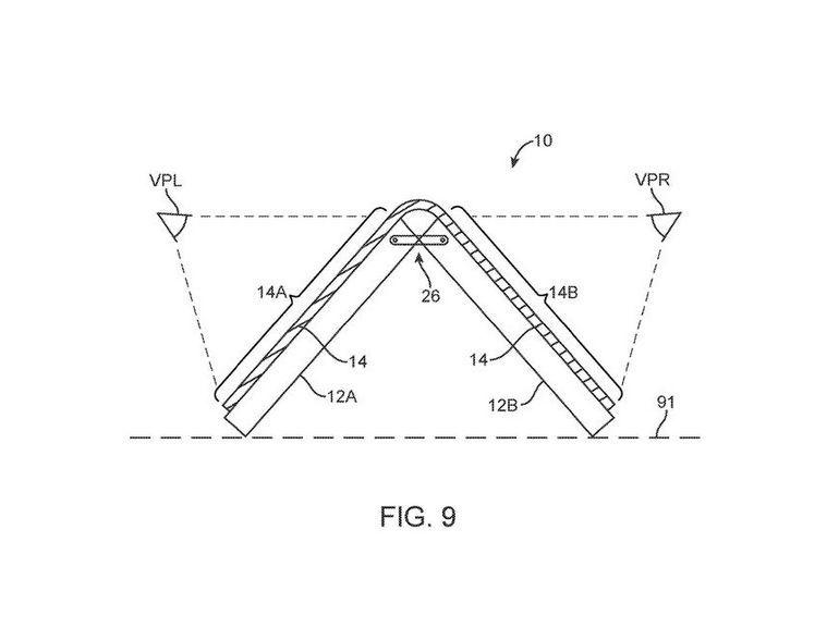 Smartphone à  écran pliable : Apple aussi y pense
