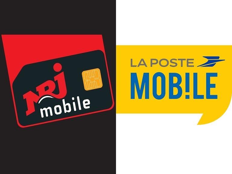 Forfait mobile à 5€ : NRJ Mobile 50 Go ou La Poste mobile 10 Go, lequel choisir actuellement ?