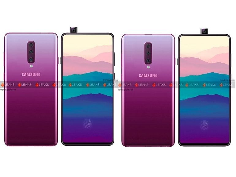 Samsung Galaxy A90 : un milieu de gamme avec appareil photo rétractable ?