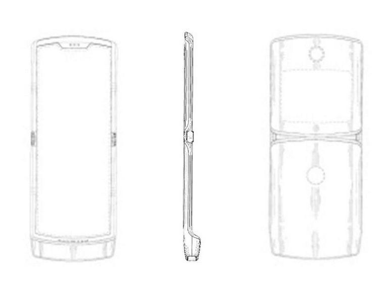 Razr, le smartphone à écran pliable de Motorola arriverait cet été
