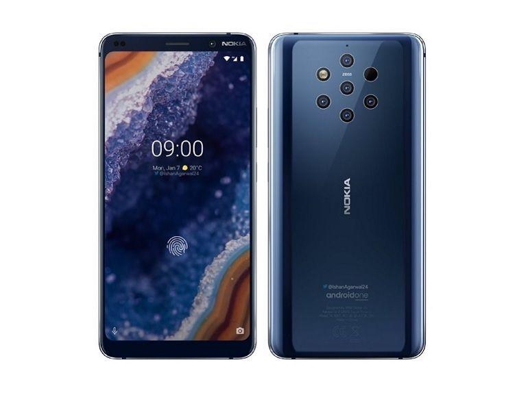 MWC 2019 : Nokia 9 PureView, le smartphone avec cinq appareils photo