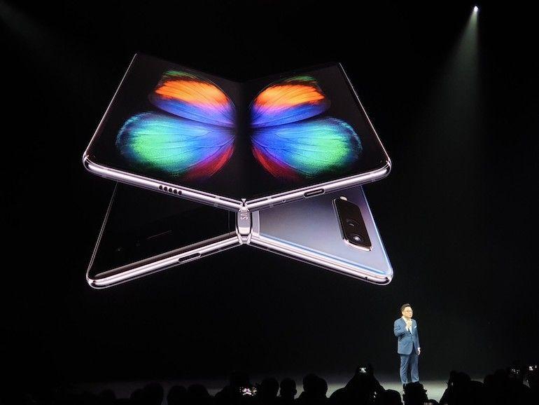 Samsung déplie son Galaxy Fold, à 1980 dollars