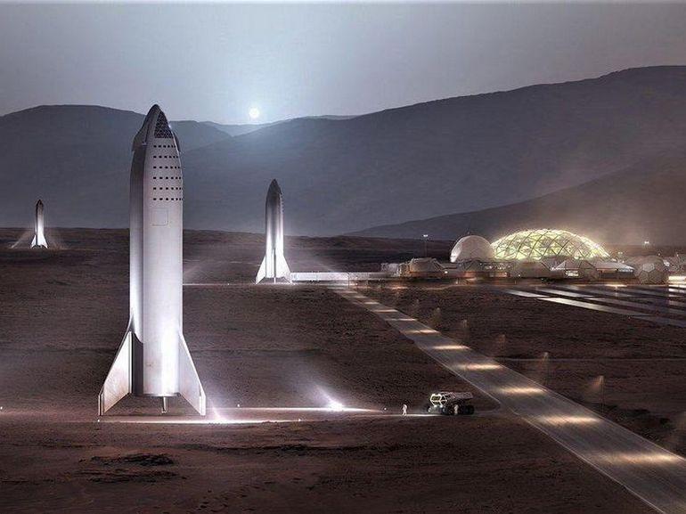 Elon Musk nous promet Mars pour un demi-million de dollars