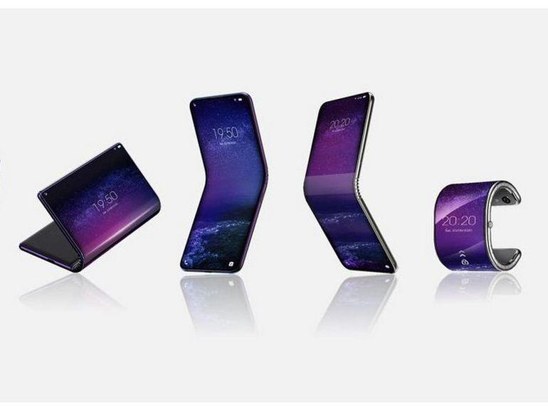 TCL développe un téléphone à écran pliable qui se transforme en montre