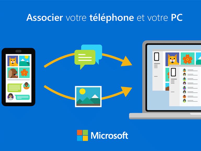 Microsoft teste de nouvelles icônes pour l'application Votre téléphone sur Android