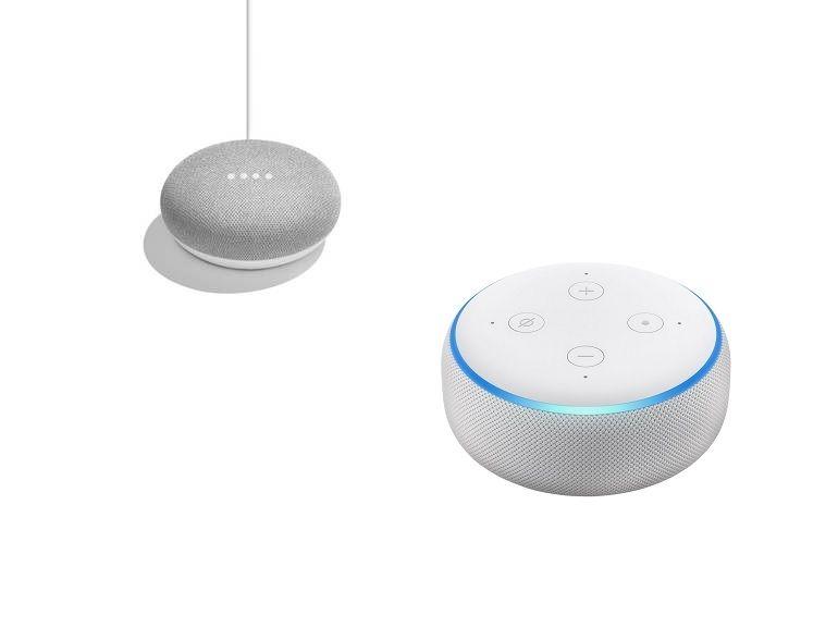 Bon plan : les enceintes connectées Google Home Mini et Amazon Echo Dot 3 passent à 39,99€