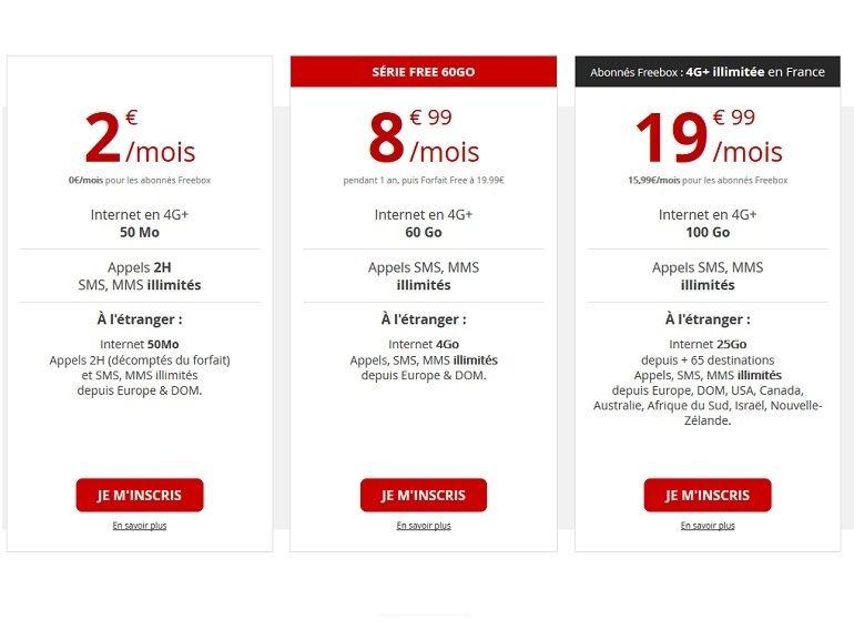 Free Mobile : la promotion sur le forfait 60 Go à 8,99€ devrait prendre fin ce soir