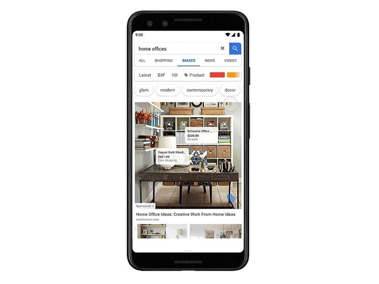 Google Images va intégrer de la publicité par affiliation