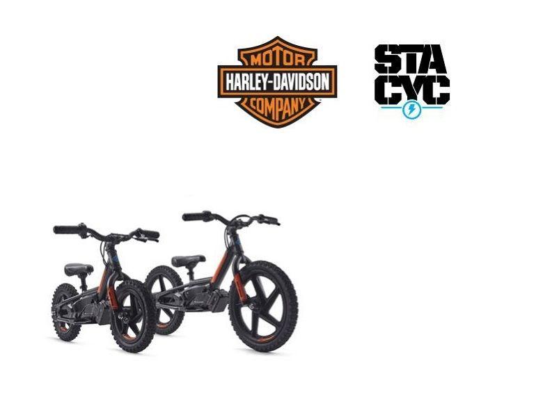 Harley Davidson lance une gamme de vélos électriques... pour les enfants
