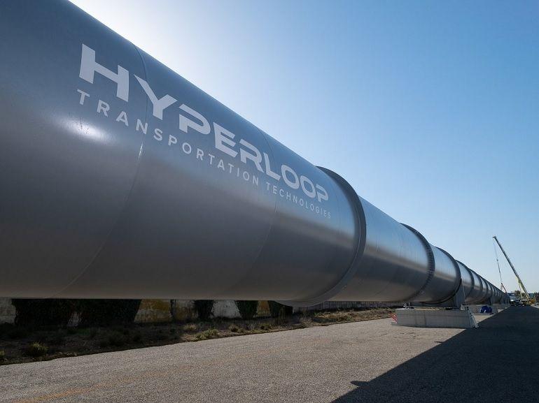 Hyperloop TT : le piste d'essai de Toulouse est achevée, les premiers tests débuteront en avril