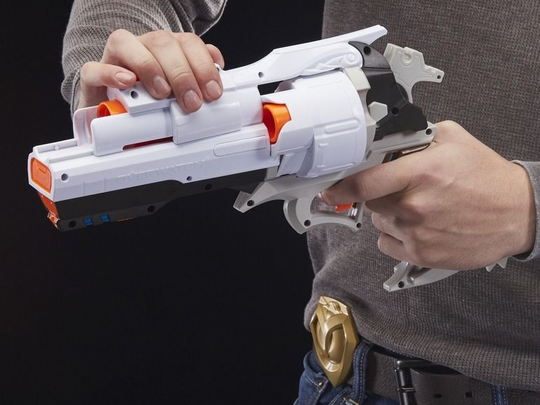 Nerf Rival Overwatch : on a joué avec les guns de D.va, McCree et du Faucheur