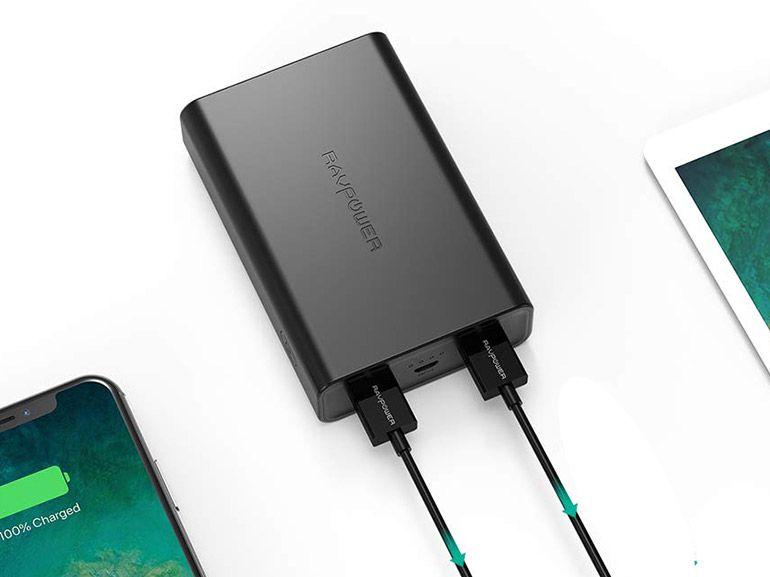 Test de la batterie de secours RAVPower 10000mah, une sécurité à petit prix