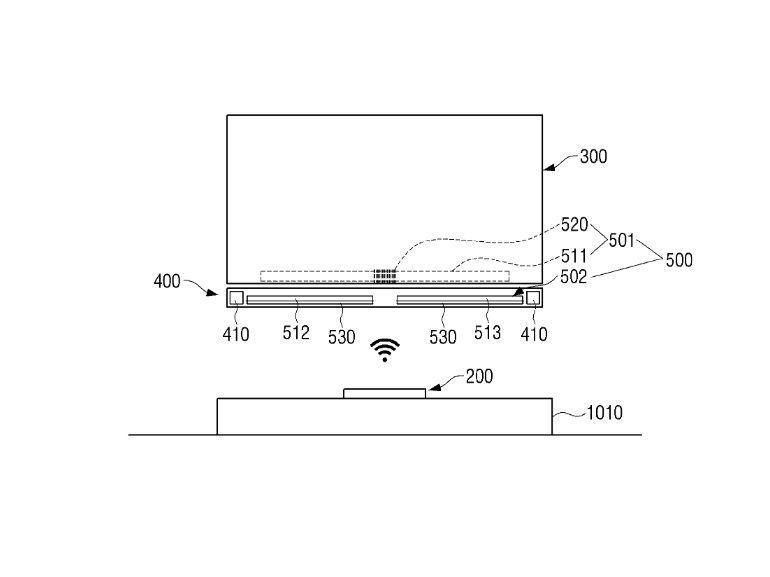 Samsung : un téléviseur équipé de la transmission électrique sans fil en préparation ?