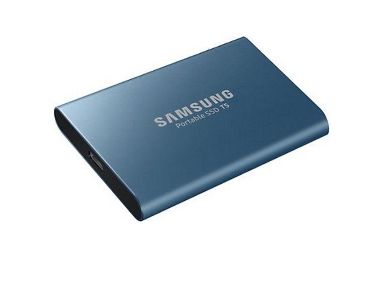 Bon plan : SSD externe Samsung T5, 500Go à 79,99€ au lieu de 119
