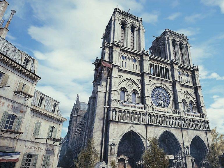 En hommage à Notre-Dame de Paris, Ubisoft offre son jeu Assassin's Creed Unity