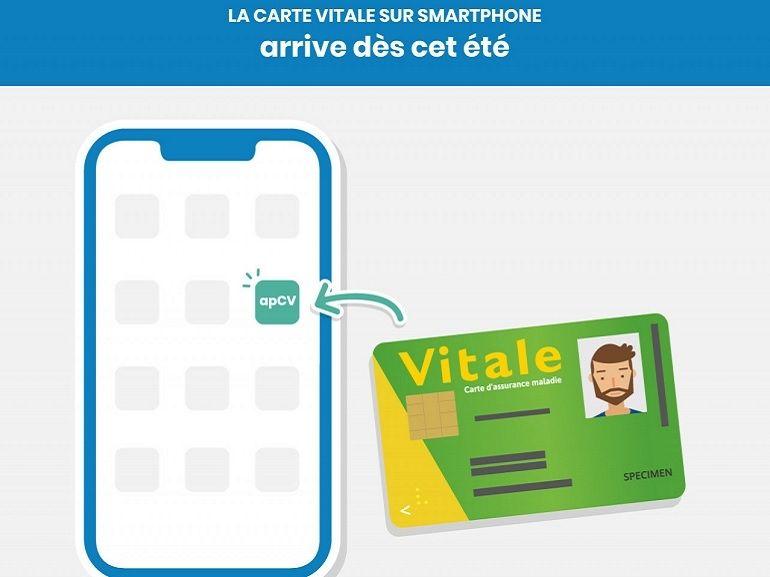 La carte vitale passe au numérique, elle sera bientôt remplacée par le smartphone